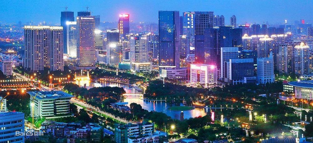 碧桂园等国际国内知名企业在佛山建设总部大楼,佛山创意产业园和禅城图片